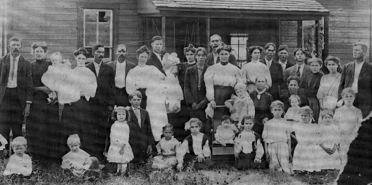 Allee-Lucas Family in 1909